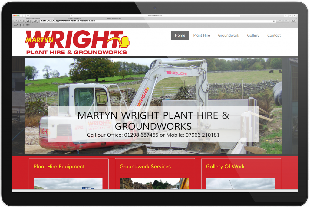 Martyn Wright Plant Hire