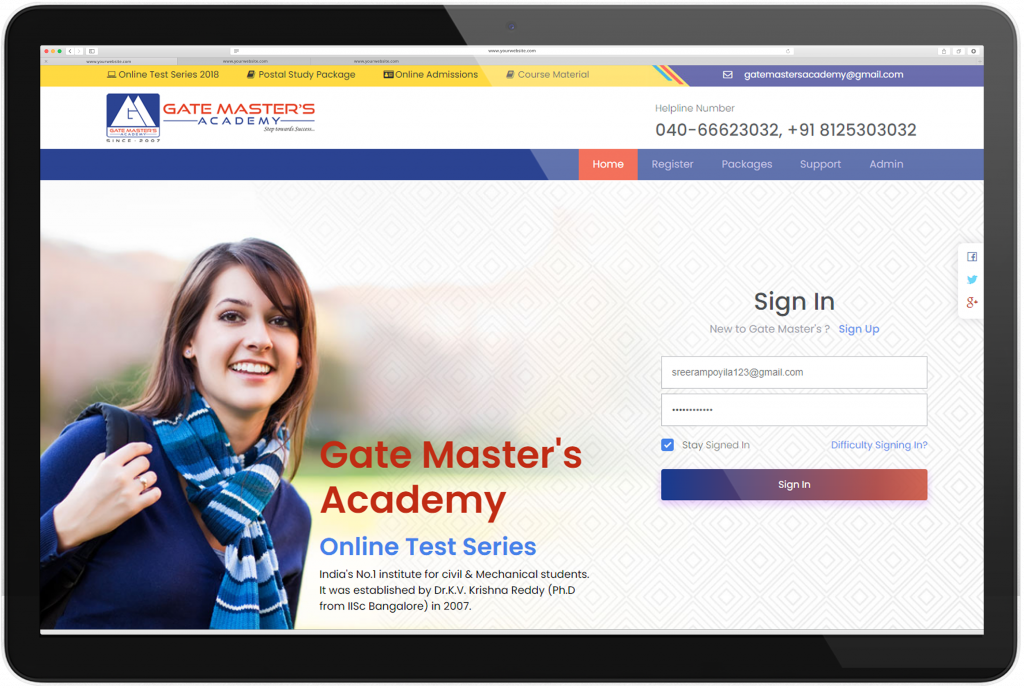 Gate Masters Academy