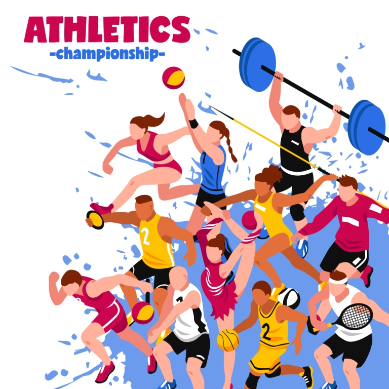 Vector illustrations and images for Sports