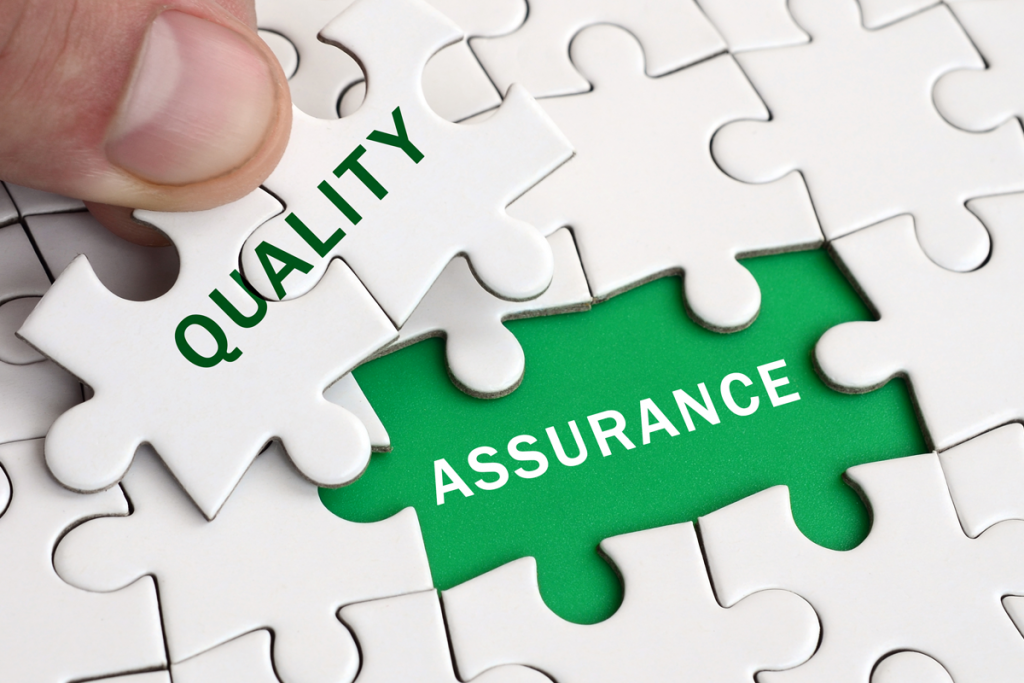 Quality assured services